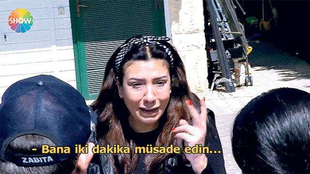 Işın Karaca evinden oldu