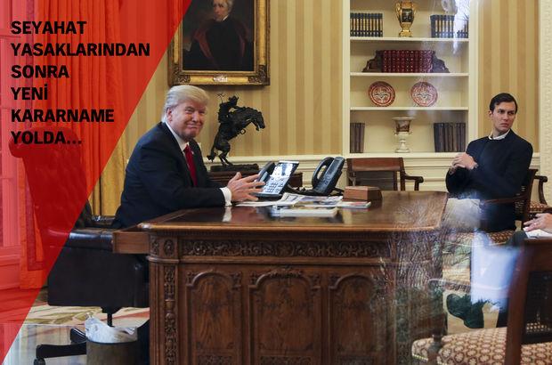 Trump yabancılara yönelik yeni bir kararnameye hazırlanıyor!