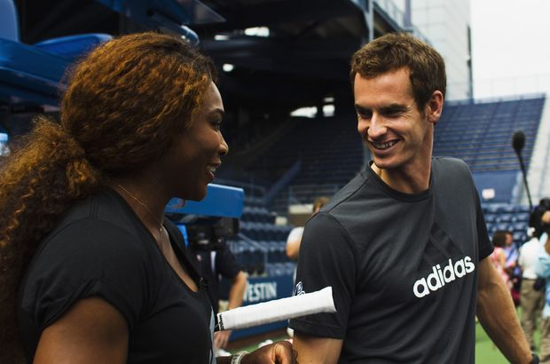 Andy Murray Serena Williams tenis Roger Federer