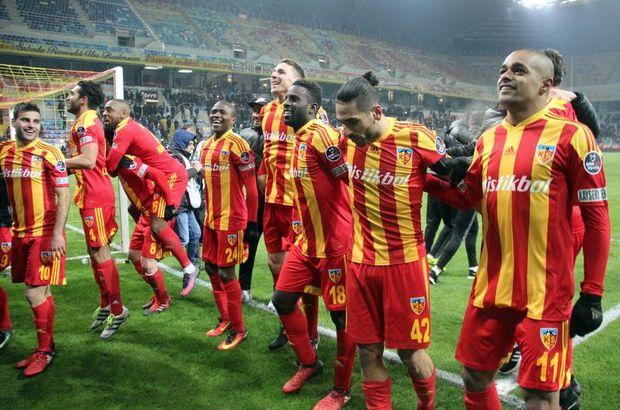 Kayserispor gollerini Fenerbahçe'ye saklıyor