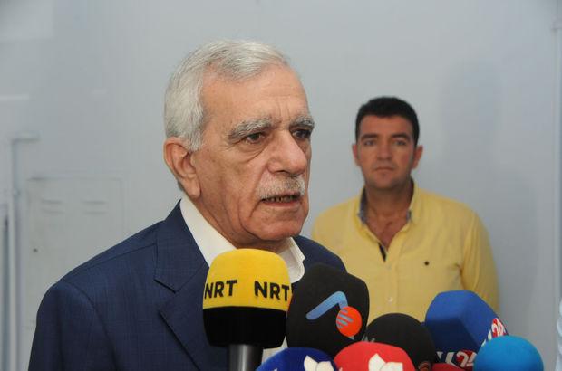 Ahmet Türk yeniden Elazığ'a gönderildi