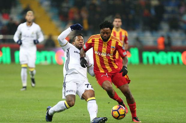 Kayserispor-Fenerbahçe maçı yazar yorumları