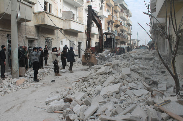 İdlib'e hava saldırısı: 3 ölü, 8 yaralı
