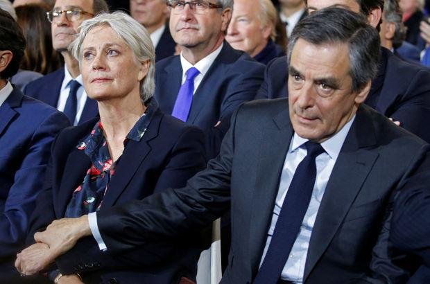 Fransa'da cumhurbaşkanlığı adayı ve eşi sorgulandı