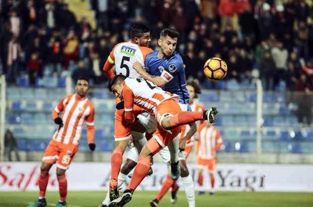 Adanaspor: 2 - Kasımpaşa: 0   MAÇ SONUCU