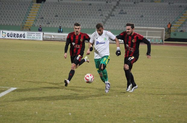 Şanlıurfaspor: 1 - Eskişehirspor: 1