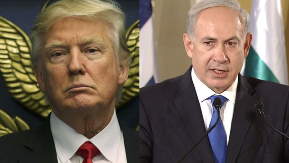 Donald Trump Binyamin Netanyahu