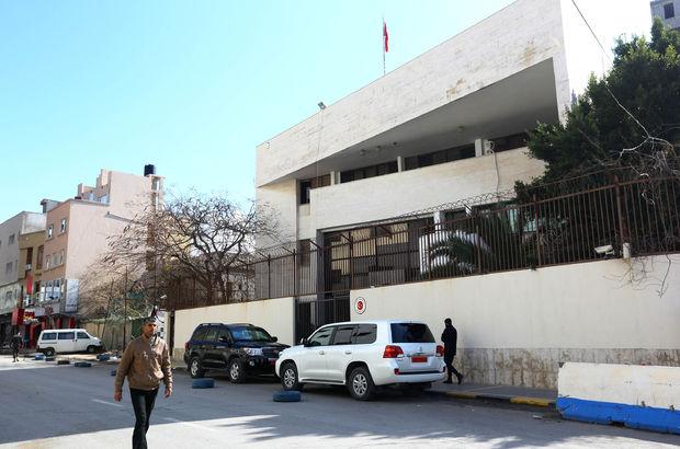 Türkiye'nin Trablus Büyükelçiliği yeniden faaliyette