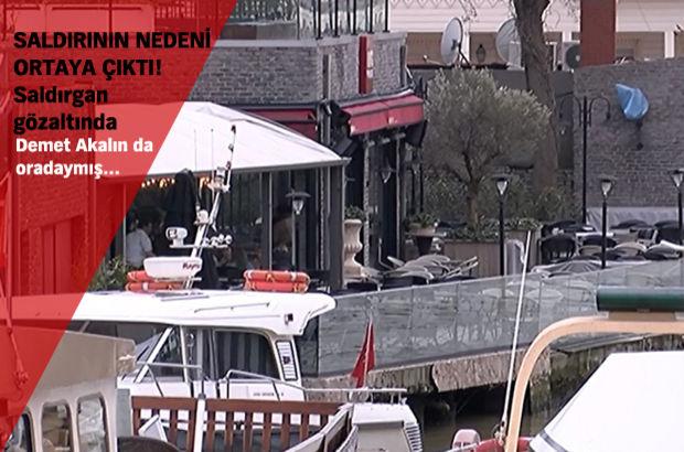 Beykoz'da restoranda silahlı saldırı