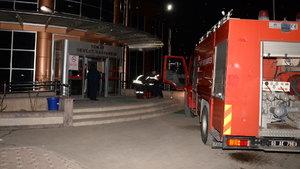 Tokat Devlet Hastanesinde yangın