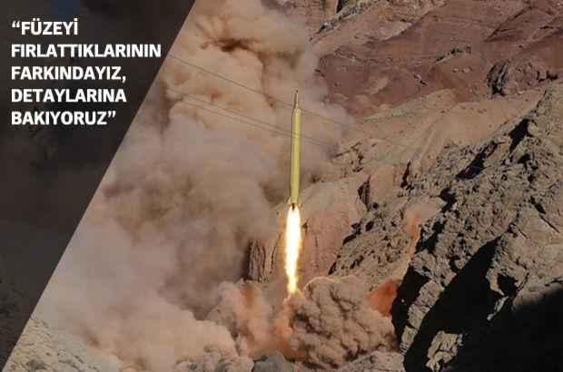 Beyaz Saray: İran'ın bu füzeyi fırlattığının farkındayız, tam detaylarına bakıyoruz