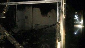 Alanya'da korkutan ev yangını