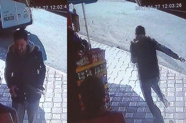 Amasya'da El frenini çekmeyi unuttu, minibüsün peşinden böyle koştu