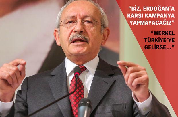 CHP lideri Kemal Kılıçdaroğlu referandum stratejisini açıkladı