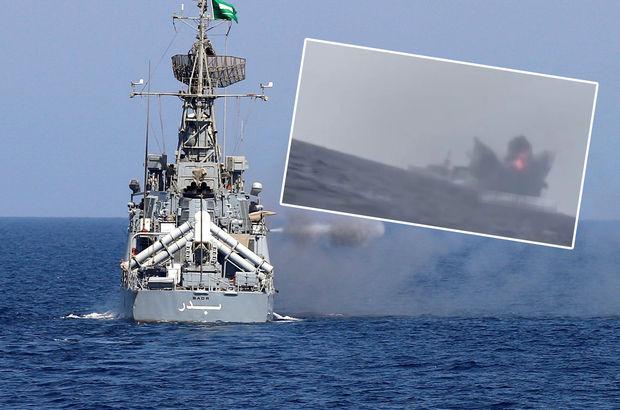 Suudi Arabistan gemisine Kızıldeniz'de teknelerle intihar saldırısı!