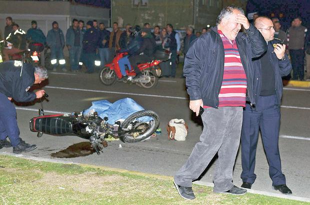 Antalya'da motosiklet şov yaparken can aldı