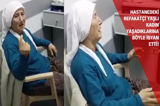 Kıbrıs'taki bir hastanede su isteyen yaşlı kadına hemşireler izin vermedi' iddiası