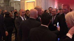 Mubariz Mansimov, Trump'ın yemin törenine katıldı