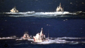 2 Yunan botu Türk karasularına girince Türk askeri müdahale etti