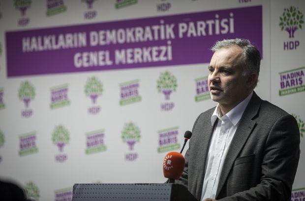HDP Sözcüsü Ayhan Bilgen tutuklandı.