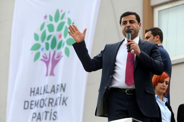 Selahattin Demirtaş hakkındaki iddianame kabul edildi