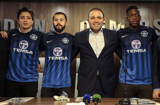 Adana Demirspor'da 3 transfer