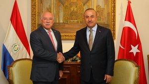 Dışişleri Bakanı Mevlüt Çavuşoğlu Paraguay'da