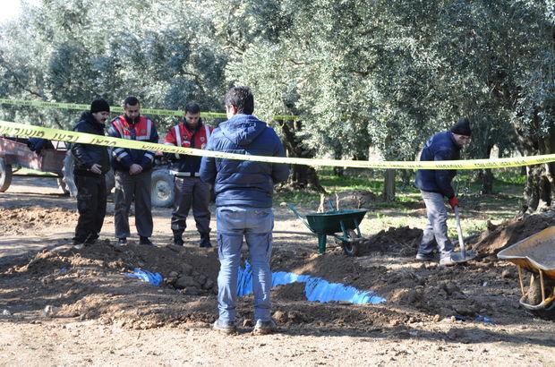 Bursa'da zeytinlikte Roma lahiti bulundu