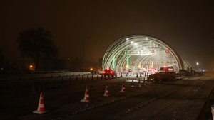 Avrasya Tüneli'nden 24 saat geçiş başladı