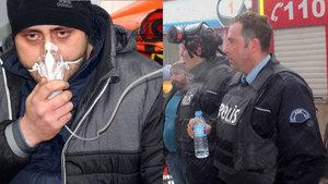 Ağrı'da kahraman polisler faciayı önledi!