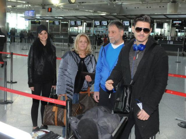 Tolgahan Sayışman ve Almeda Abazi ABD'ye uçtu