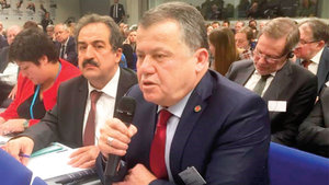 YARGITAY Başkanı İsmail Rüştü Cirit, Avrupalı yargıçlara FETÖ'yü anlattı