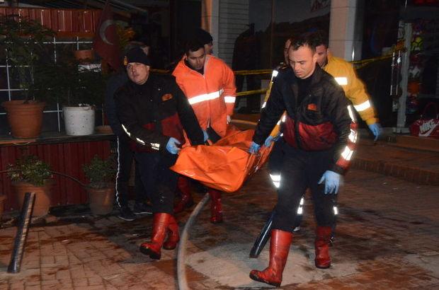 Zonguldak yangın