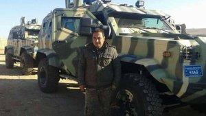 İşte ABD'nin PYD'ye gönderdiği zırhlı araçlar!