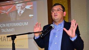 Özgür Özel'den 2. Abdülhamid'in torununa tepki