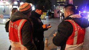 İstanbul polisinden yabancı şahıslara yönelik uygulama