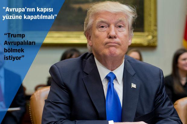 AP Avrupa Parlamentosu ABD Donald Trump