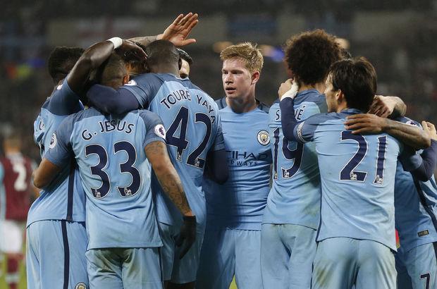 West Ham United: 0 - Manchester City: 4