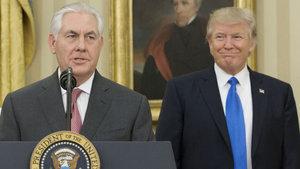 ABD Dışişleri Bakanı Tillerson görevine başladı
