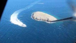 Sahil Güvenlik, Kardak'daki denetimlerin görüntülerini yayınladı