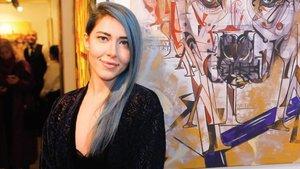 Ünlü tasarımcı Mavi Kazado, 'İnadına Sanat'ta