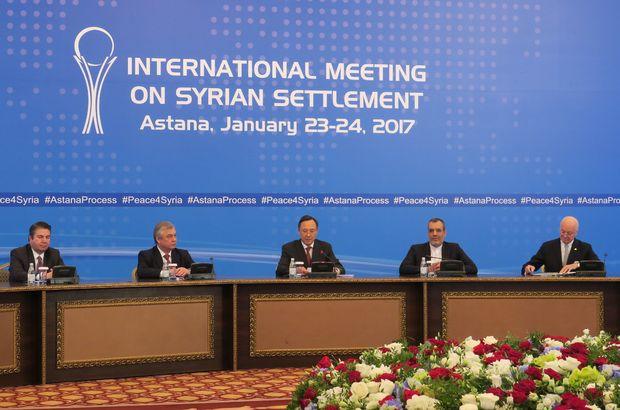 Türkiye, Rusya ve İran'dan Astana'da bir görüşme daha!