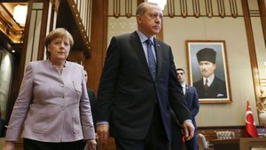 Almanya Başbakanı Merkel, Ankara'da