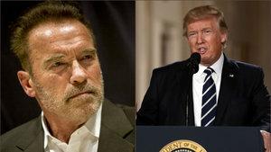 """Trump ile Schwarzenegger arasında """"Çırak"""" tartışması"""