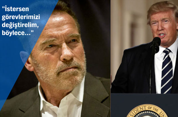 Donald Trump ABD Arnold Schwarzenegger