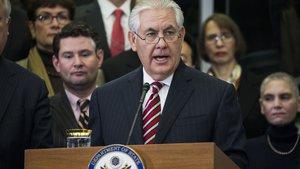ABD Dışişleri Bakanı Rex Tillerson'dan birlik çağrısı
