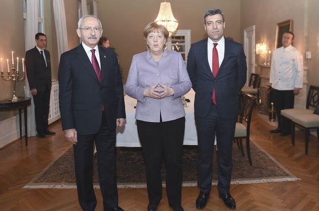 Merkel, Kılıçdaroğlu ve Baluken ile görüştü
