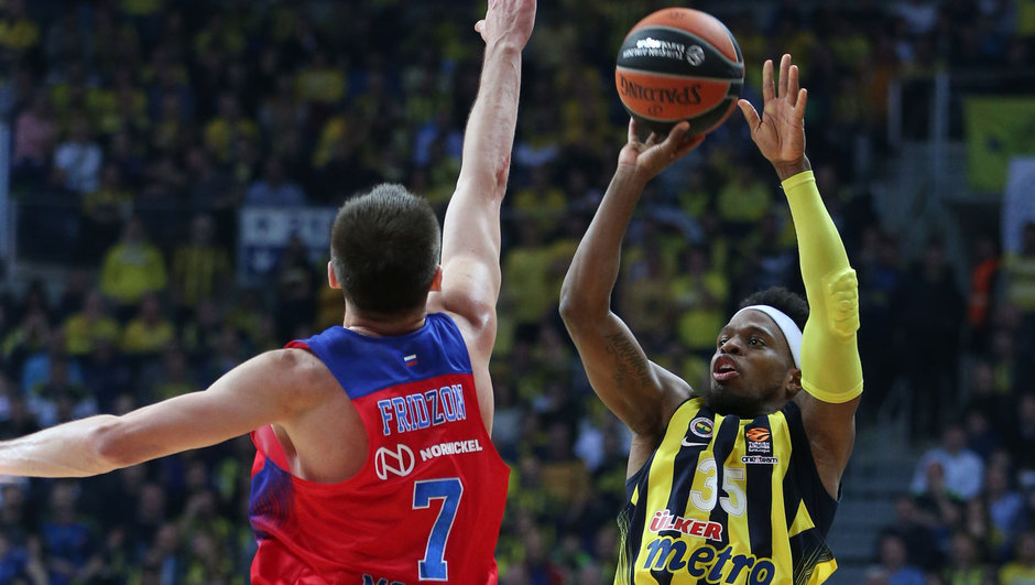 Fenerbahçe CSKA Moskova THY Avrupa Ligi