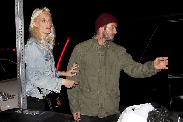 David Beckham fena yakalandı
