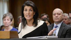 ABD'nin yeni BM Temsilcisi Nikki Haley:  Kırım Ukrayna'ya geri verilmezse...